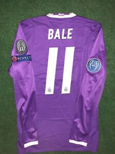 BALE REAL MADRID MATCH PREPARED SHIRT FINAL CL. Cardiff 2017