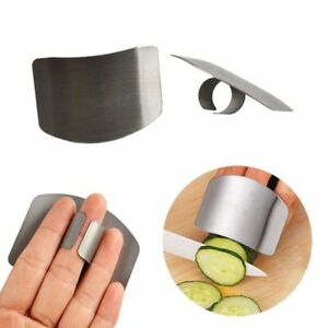Finger Guard Protector Hand Kitchen Tools Stainless Steel Chop Safe Slice Knife C $3.26