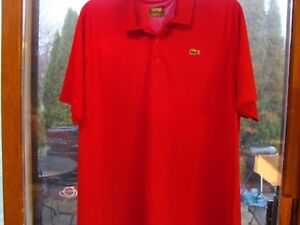 Lacoste Sport Performance Mens Cranberry (RED) Polyester Polo Shirt 9 (3X)
