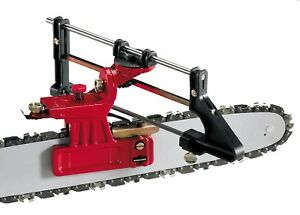 Tecomec DELUXE Chainsaw Sharpening File Guide Bar Mount replaces Oregon 557849 $28.49