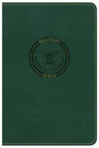 CSB Military Bible Green Leathertouch (Leather  Fine Binding)