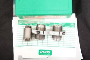 2X Reloading Dies RCBS .221 To 17 Mach IV Form Die Set & Extended Shell Holder