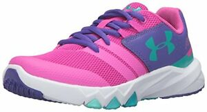 Under Armour Girls Pre-School Primed Running Shoes 13K- Pick SZColor.