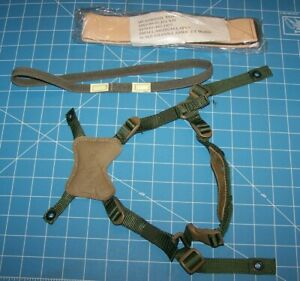 GENTEX Helmet Chin Strap Band USMC Large Military Retention MICH ACH Airsoft