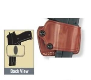 Gould Goodrich Yaqui Slide Holster Brown 801-195 for Most 1911-type Pistols
