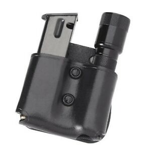 Galco MFP28B Black Cop Magazine Flashlight Paddle Pouch S&W M&P .45