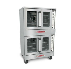 Southbend ES20CCH Electric Double Stack Convection Oven Cook & Hold Std. Depth