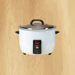 60-Cup Aroma Commercial Heavy Duty Rice Cooker Electric Nonstick Cooking Pot New