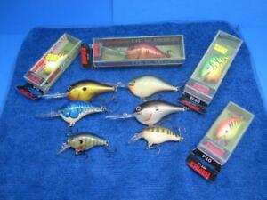 10 Rapala Dive To Crankbaits Four are NIB A Mix Of DT04s To DT16s Fishing Lures