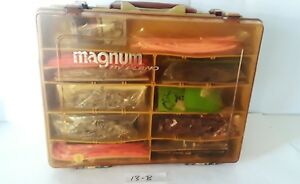 Plano Magnum 1152 Tackle Box Stuffed Full of Lures Hooks Worms Craw
