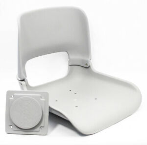Tempress T4400 All Weather Boat Seat Shell w/ Mount Gray