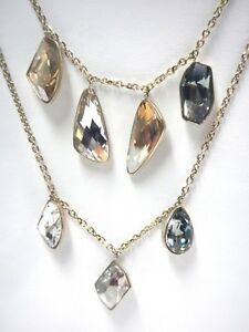 PRISMA VERSATILE CRYSTAL NECKLACE GOLD PLATING 2018 SWAROVSKI JEWELRY 5385837