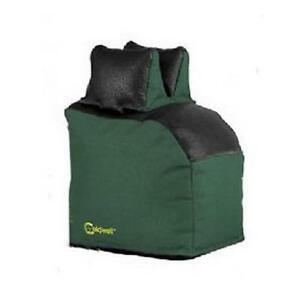 Caldwell 445389 Bench Bag Magnum Extended Rear Bag Filled Leather Green