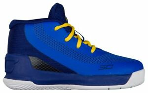 Under Armour Curry 3 Boys' Toddler Team RoyalCaspianTaxi 6276-400