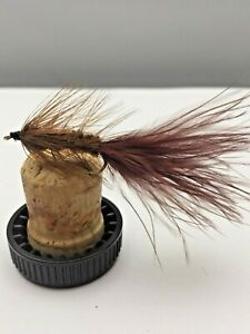 Fly Fishing PRIME collection Wooly Bugger Brown lures trout Size 10 Pack of 8