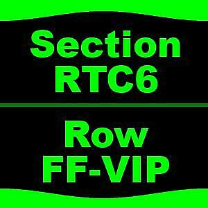3 Tickets Bob Seger And The Silver Bullet Band 68 DTE Energy Music Theatre Clar
