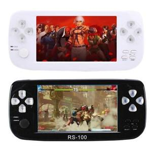 RS-100 4.3'' TFT Display Handheld Video Game Console Player for NEOGEO SFC MD FC