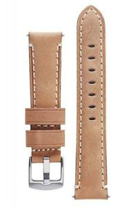 Signature Mayday Calfskin Watch Band Leather Strap Replacement Bracelet
