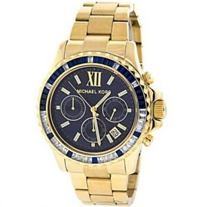 Michael Kors MK5754 Chronograph Everest Gold-Tone Bracelet Unisex 42mm Watch