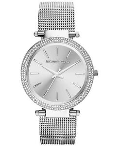 Michael Kors Silver Darci Stainless Steel Bracelet Women's Watch MK3367