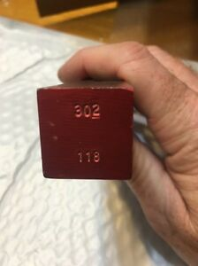 ONE Charge or Shot Bar for MEC Shotshell Press As Pictured Marked 302 118