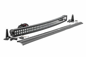 Rough Country 40 LED Dual Row Curved Light Bar CREE LED 19020 Lumens $289.95