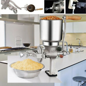 Grain Grinder Machine Corn Nut Flour Mill Kitchen Tool Equipment Food Sliver