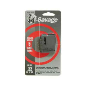 Savage Arms Savage Magazine 93 Series .22WMR.17HMR 5-Rnd Blued