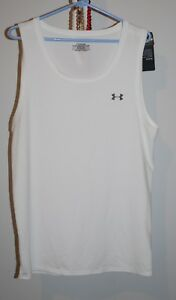NWT Lot of 2 Men's Heat Gear Under Armour Tank Tops Loose and Fitted 2XL