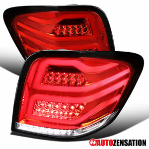 06-11 Mercedes Benz ML-Class W164 Replacement Full LED Red Brake Tail Lights
