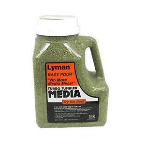 Lyman 7631394 Turbo Case Cleaning Media 6 Pounds Easy Pour Container