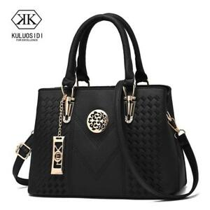 Embroidery Messenger Bags Women Leather Handbags  Bags for Women 2018 Sac a Main