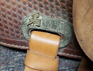 barrel saddle 13 inch NBH saddle for salw good condition looking for a step up.