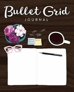 Bullet Grid Cute Desk Icons Journal, Paperback by Creative Notebooks (COR), B...