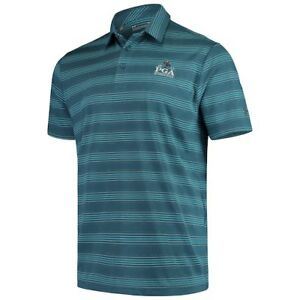 Under Armour 2019 PGA Championship TealBlue Playoff Backspin Polo