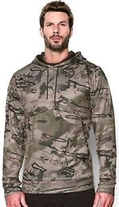 Under Armour Hunting Ridge Reaper Camo Pullover Hoodie Mens 2XL NWT $74.99