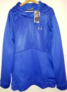 Under Armour Storm Water-Resistant Pullover Hoodie Men 3XL Tall (NWT) Blue