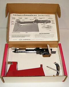 LEE Safety Powder Scale Unused in Original Box