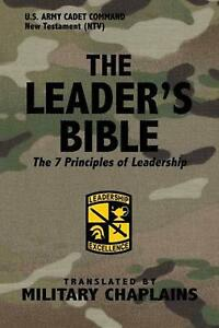 Leader's Bible (us Army Cadet Command) by Military Chaplains by Military Chaplai