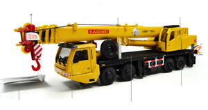 KDW 1:64 Scale Machinery Lift Crane Truck Construction Equipment Diecase Model