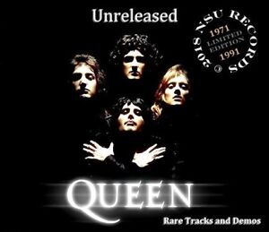 QUEEN  RARE UNRELEASED RARE TRACKS AND DEMOS  1971 TO 1991  5 CD