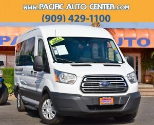 2015 Ford Transit Connect XLT 2015 Ford Transit-350 XLT 32460 Miles Oxford White 3D Medium Roof Wagon Power St