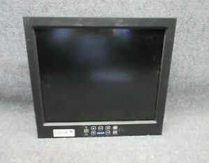 GD General Digital 17quot; LCD Mountable Monitor 90 600 130 B CMG 17W *Tested* $49.99