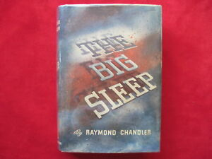 RAYMOND CHANDLER - 1939 FIRST EDITION FIRST PRINTING IN DUST JACKET