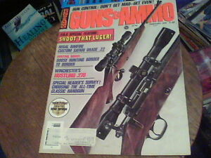 Feb 1971 Guns & Ammo Winchester's Hustling 270 the 7mm Lugers 1920