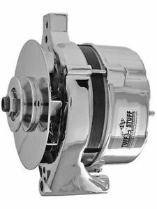 Tuffstuff Chrome Alternator 100Amp 1Wire Ford Oe Small Case Design (F7078ND)