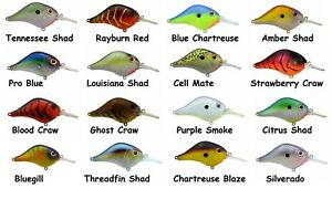 Bill Lewis Lures MR-6 Crankbait - Choice of Colors