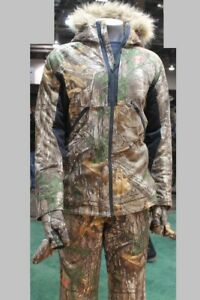 Under Armour Women Set Hooded Hunting Infrared Camo Jacket and Pants L