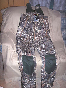 Mens Small Bib Overalls Under Armour Camo Bibs Cold Weather Insulated Bibs $300