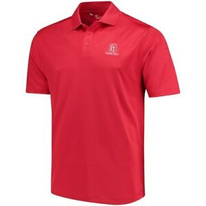 Under Armour TPC Deere Run Red Performance Polo